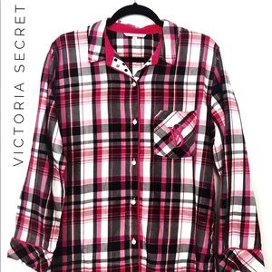 Victoria Secret Women's Pajama Top Sleep Shirt